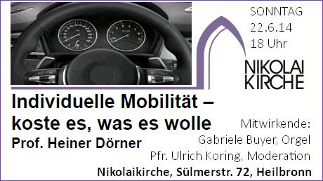 2014-06-22 Vortrag Doerner Mobilitaet
