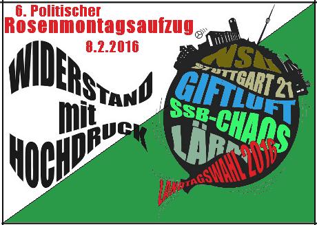 2016-02-08 Politischer Rosenmontagsaufzug