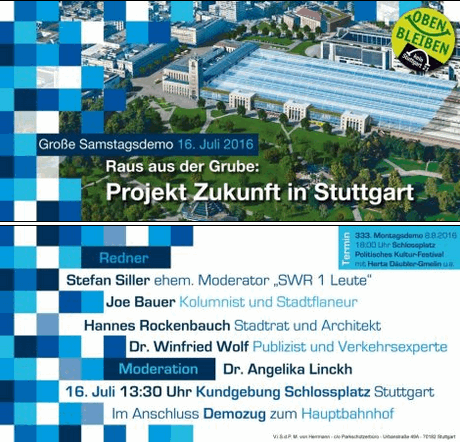 Großdemo Stuttgart 16.7.16
