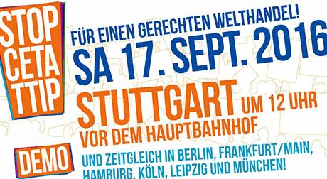 Stopp TTIP 17.9.16 Stuttgart