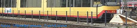 Stadtbahn abgestellt