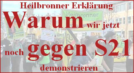 Heilbronner Erklarung - Blickfang