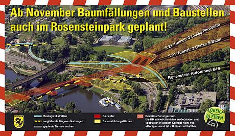 Rosensteinpark in Gefahr