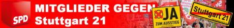 SPD-Mitglieder gegen S21